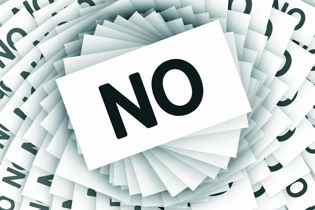 Catonira Angebot Absage Antworten